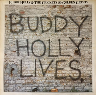Buddy Holly & The Crickets - 20 Golden Greats (LP) (VG+/VG-)